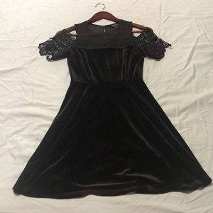 TOPSHOP Velvet Dress US SZ 2